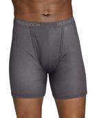 Men's EverLight Black/Gray Boxer Briefs, 3 Pack Assorted