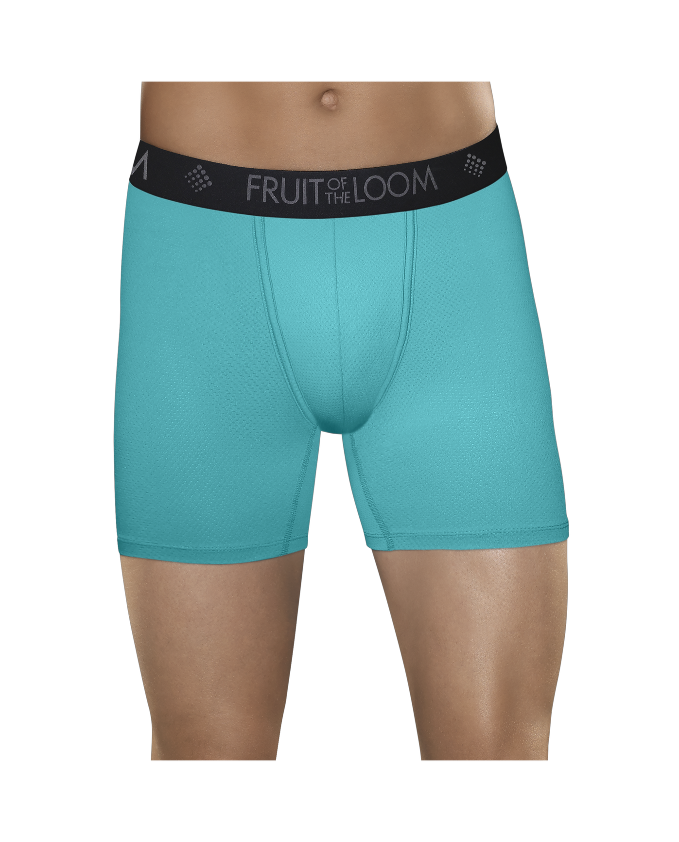 Men S Breathable Lightweight Micro Mesh Print Solid Boxer