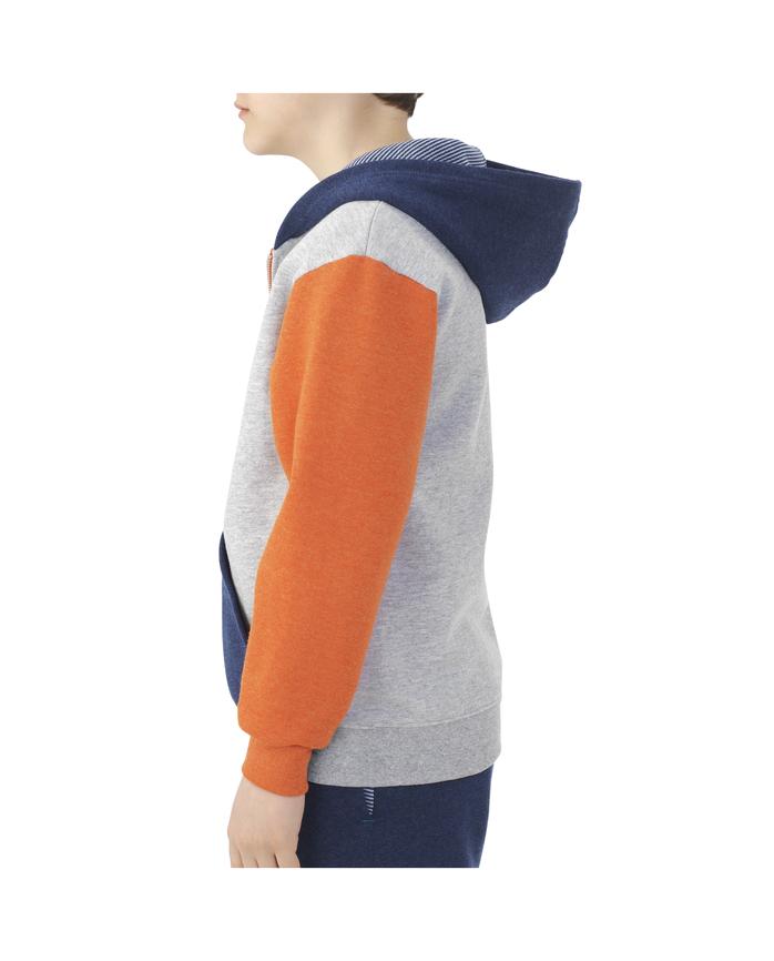 Boys' Fleece Full Zip Hoodie, 1 Pack