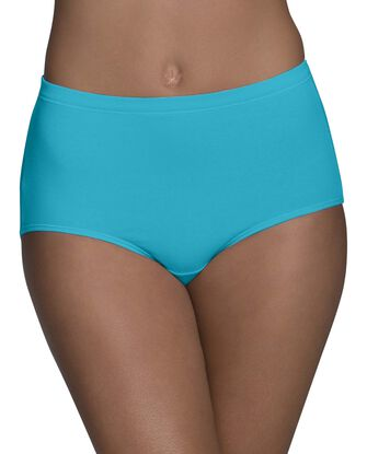 Women's Breathable Cotton-Mesh Brief Panty, 6 Pack
