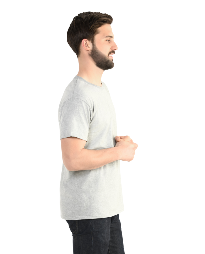 Big Men's Dual Defense® Crew Neck T-Shirt, 1 Pack Steel Gray Heather