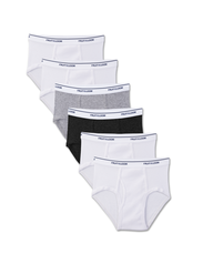 Boys' 6 Pack Assorted Color Brief Assorted