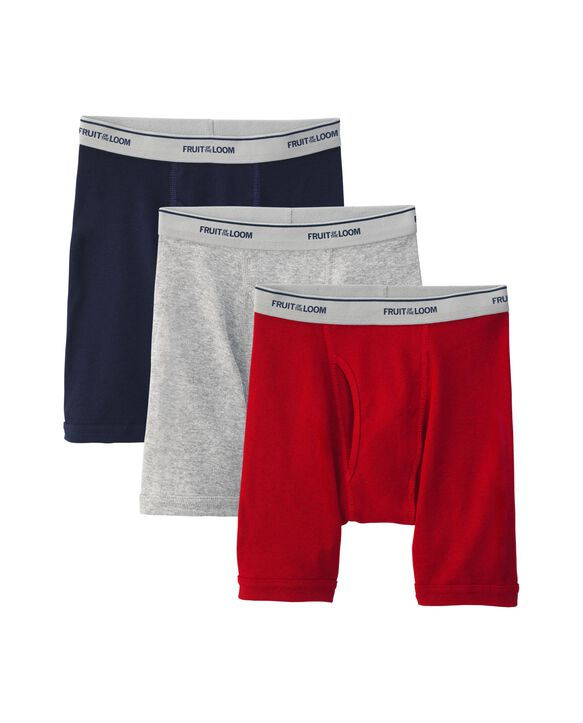 Boys' Assorted Boxer Brief, 3 pack ASSORTED