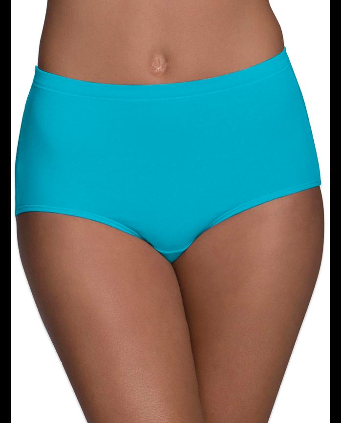 Women's Breathable Cotton-Mesh Brief Underwear, 8 Pack ASSORTED