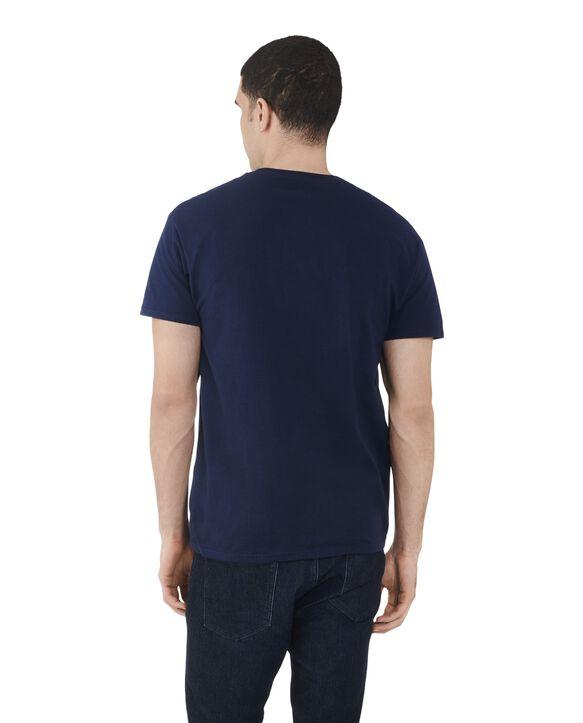 Men's Dual Defense UPF Short Sleeve Crew T-Shirt, 1 Pack J Navy