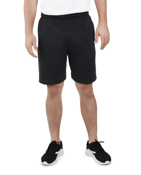 Men's Dual Defense® Jersey Shorts, 1 Pack, Extended Sizes black