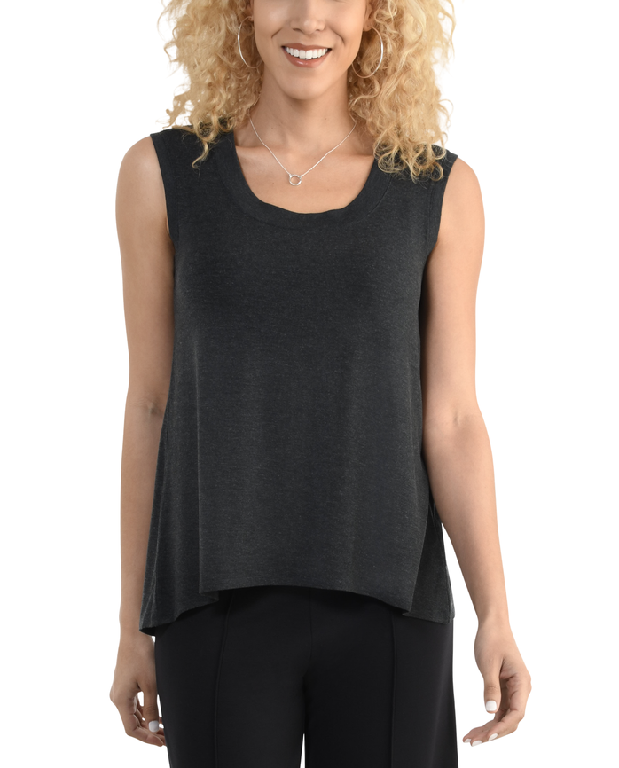 Women's Seek No Further Scoop Neck Shell Tank Top