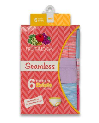 Girls' Seamless Brief, 6 Pack