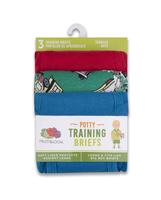 Fruit of the Loom Toddler Training Pant, 3 pack Assorted