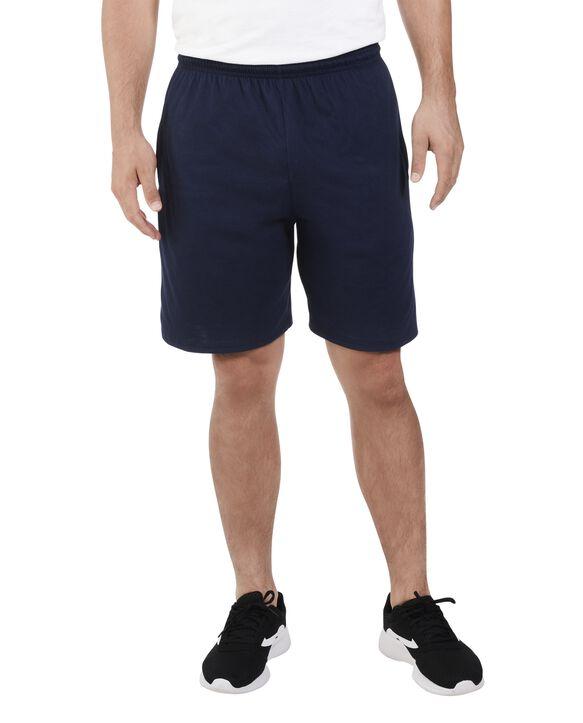 Men's Dual Defense UPF Jersey Shorts, 1 Pack J.Navy