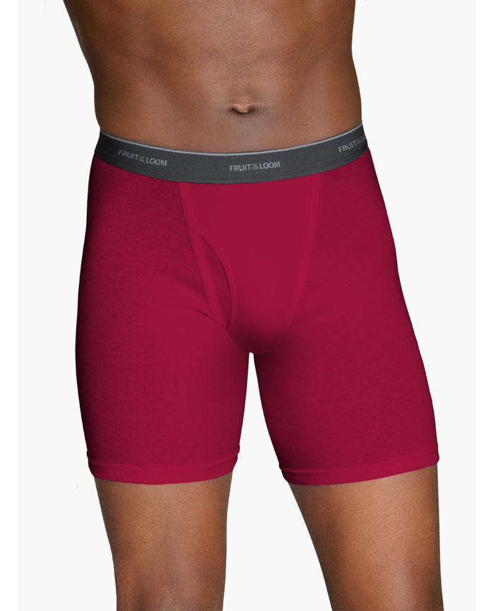 Men's Dual Defense® Assorted Color Boxer Briefs, 5 Pack Assorted Color