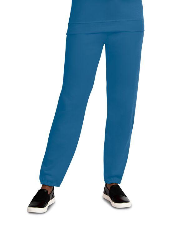 EverSoft Fleece Elastic Bottom Sweatpants, 1 Pack Blue