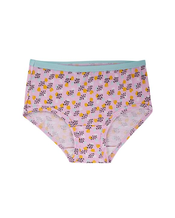 Girls' Assorted Cotton Brief, 20 Pack ASSORTED