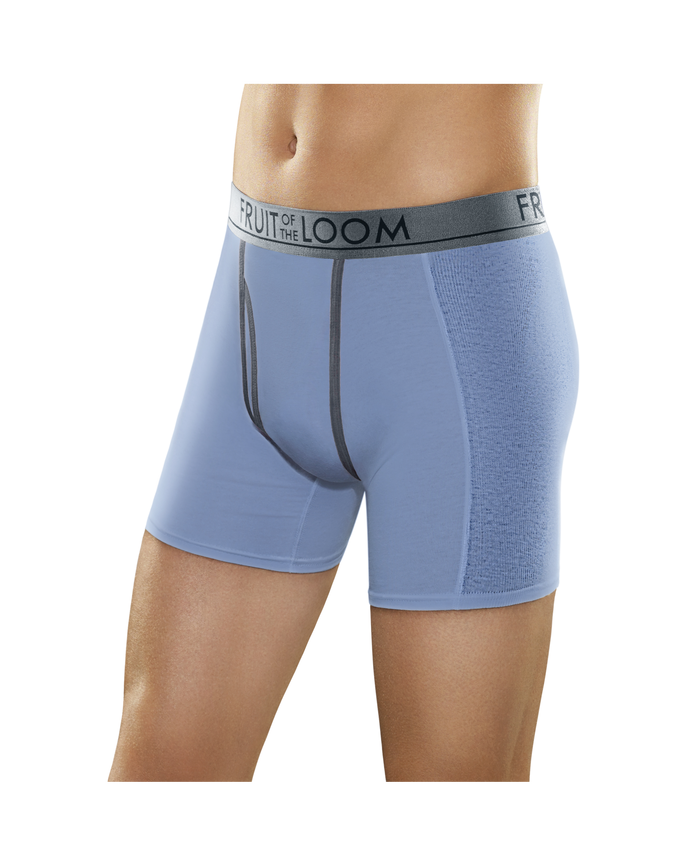 Men's Ultra Flex Boxer Brief, 3 Pack Assorted