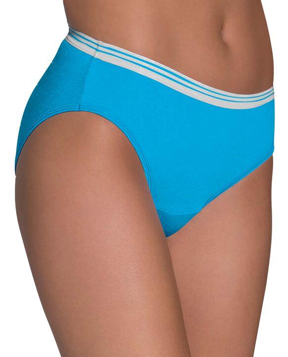 Women's Heather Assorted Bikini Underwear, 12 pack ASSORTED