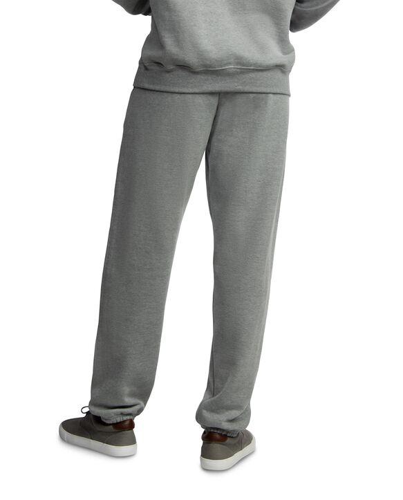 EverSoft Fleece Elastic Bottom Sweatpants, 1 Pack Grey Heather