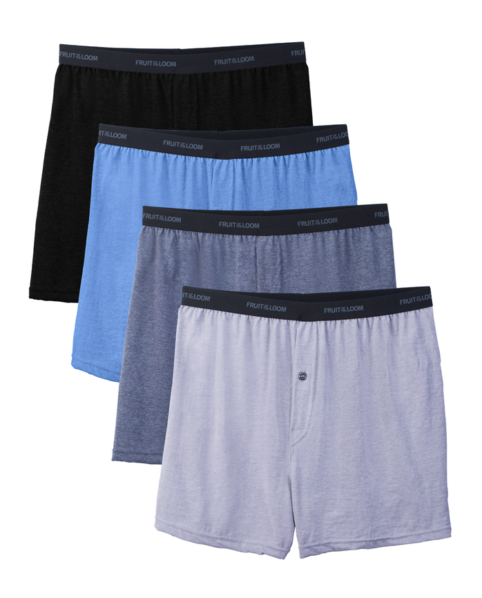 Big Men's Beyondsoft Knit Boxers, 4 Pack