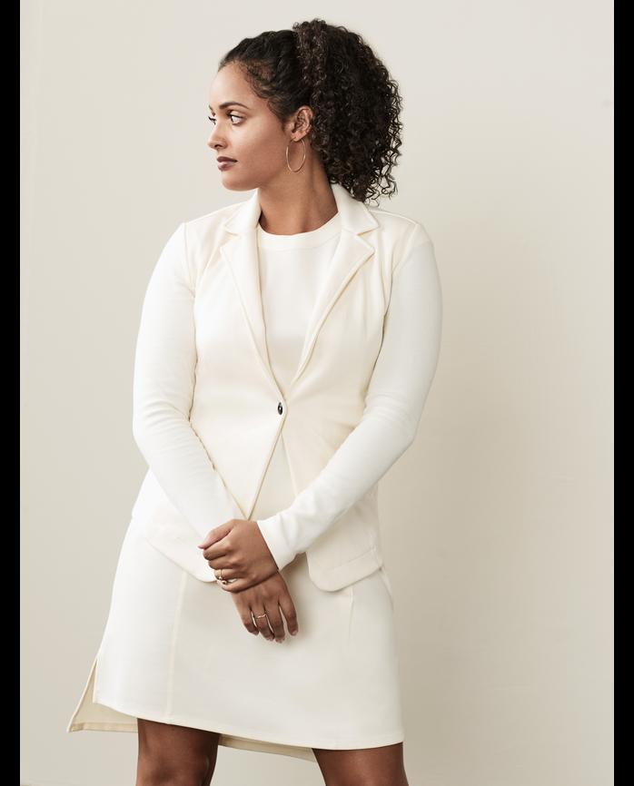 Women's Seek No Further™ Mix-it-up Blazer BF Ivory