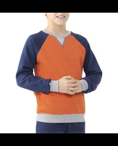 Boys' Explorer Fleece Adventure Crew Sweatshirt