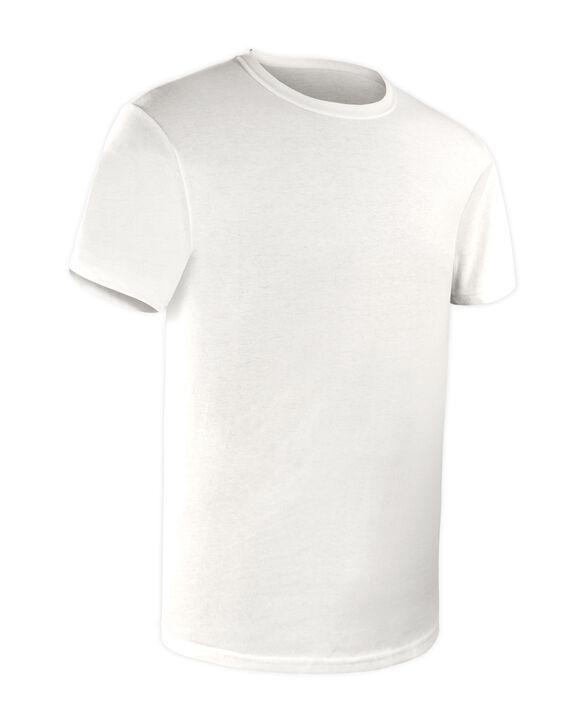 Boys' Short Sleeve White Crew T-Shirts, 7 Pack White