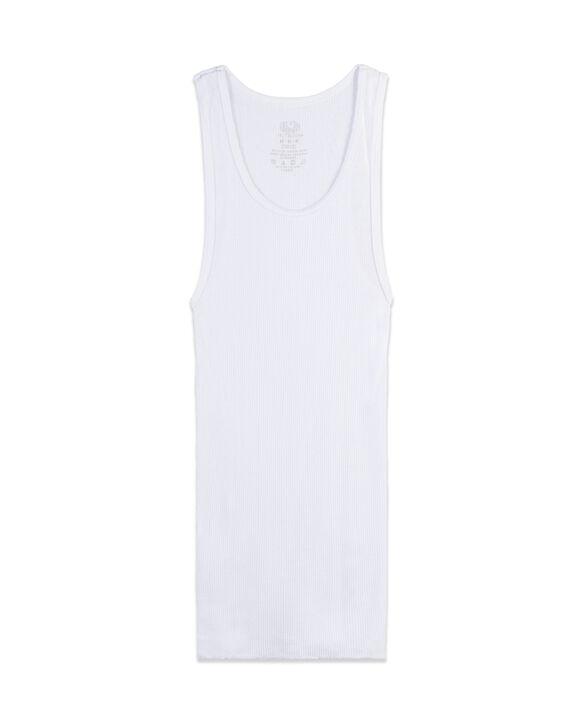 Toddler Boys' White Tank Undershirts, 10 Pack WHITE