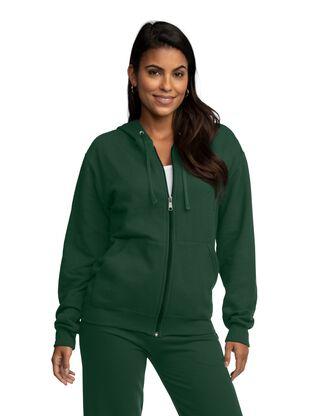 EverSoft Fleece Full Zip Hoodie Jacket, 1 Pack
