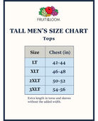 Tall Men's Classic White Crew Neck T-Shirts, 6 Pack White