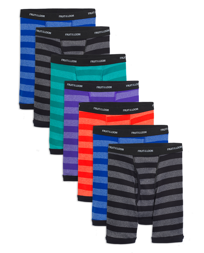 Boys' Assorted Boxer Brief, 7 pack ASSORTED
