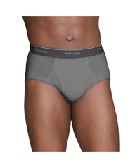 Men's 5 Pack Assorted Colors Fashion Brief Extended Sizes Assorted