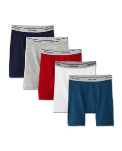 Fruit of the Loom Boys' Assorted Boxer Brief, 5 pack