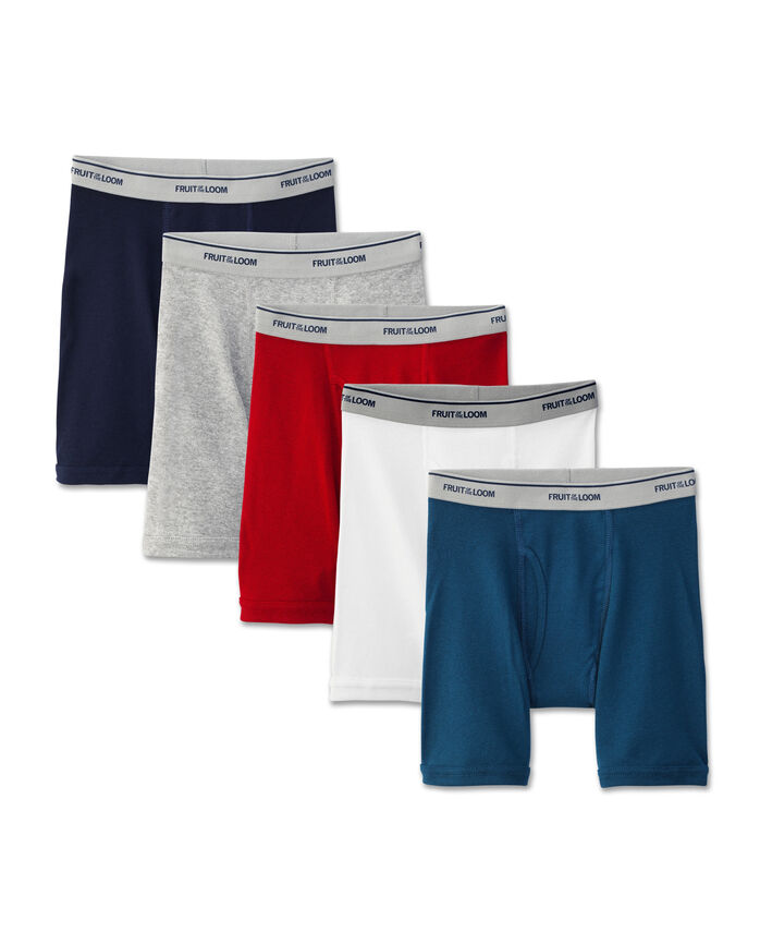 Boys' Assorted Boxer Brief, 5 pack