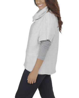 Women's Essentials Cowl Neck Pullover, 1 Pack