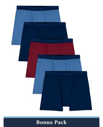 Boy's EverLight Assorted Boxer Briefs, 5 Pack