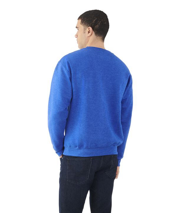 Big Men's EverSoft Fleece Crew Sweatshirt, 1 Pack Royal Heather