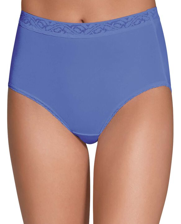 Women's Assorted Nylon Brief, 6 Pack Assorted