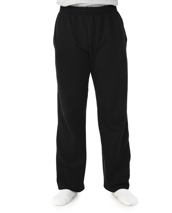 Men's Super Soft Fleece Open Bottom Sweatpants, 1 Pack