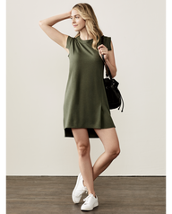 Women's Seek No Further™ Pleated Ponte Dress Military Green
