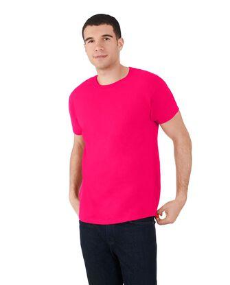 Big Men's Dual Defense UPF Short Sleeve Crew T-Shirt