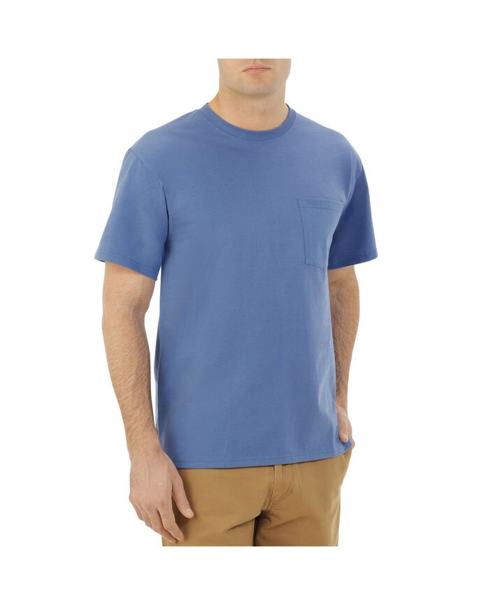 Men's Dual Defense UPF Short Sleeve Pocket T-Shirt