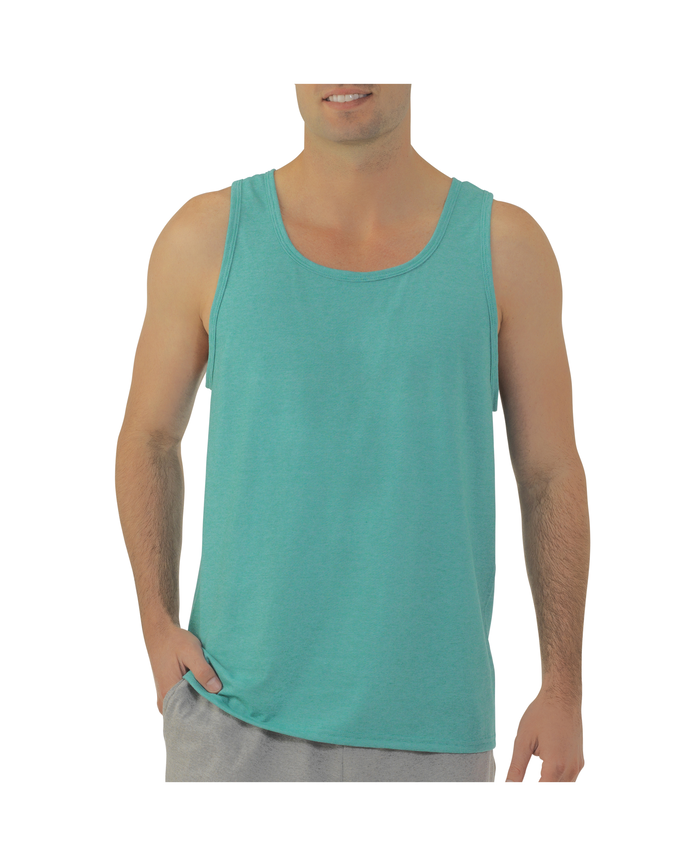 feee641bb3d29f Men s Jersey Tank Top Extended Sizes