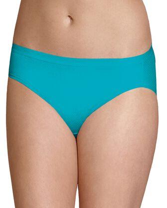 Women's Assorted Breathable Micro-Mesh Bikini Panty, 8 Pack
