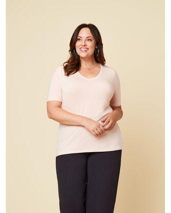 Women's Seek No Further Plus Size Short Sleeve V-Neck T-Shirt
