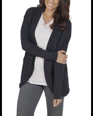 Women's Essentials Cocoon Wrap Cardigan, 1 Pack Black