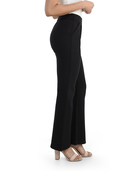 Women's Seek No Further High Waisted Pleated Fit and Flare Pants Brilliant Black