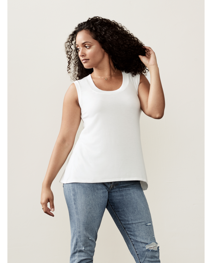 Women's Seek No Further™ Shell Tank White