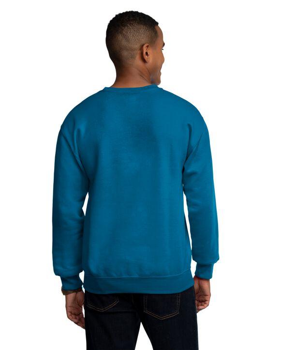 EverSoft Fleece Crew Sweatshirt, Extended Sizes, 1 Pack Blue