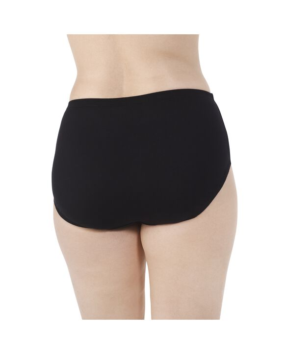 Women's  Fit for Me by Breathable Cotton-Mesh Brief, 5 Pack Assorted