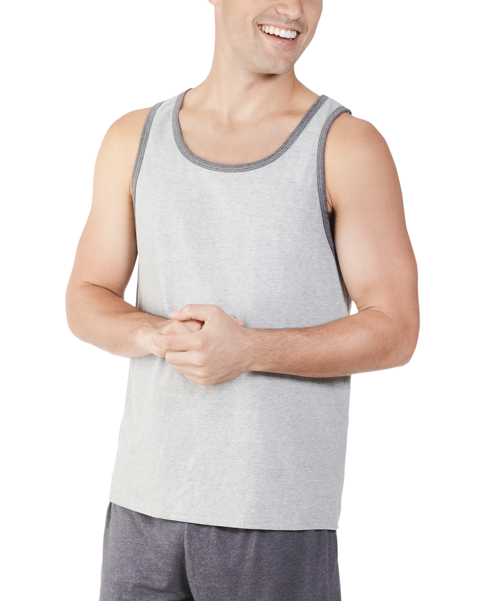 Men's Dual Defense® UPF Tank, 1 Pack