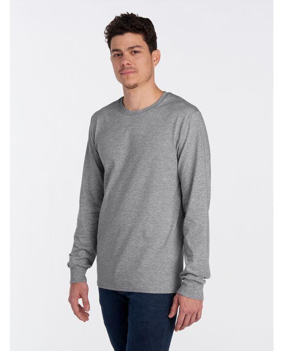 ICONIC Unisex Long-Sleeve T-Shirt Athletic Heather