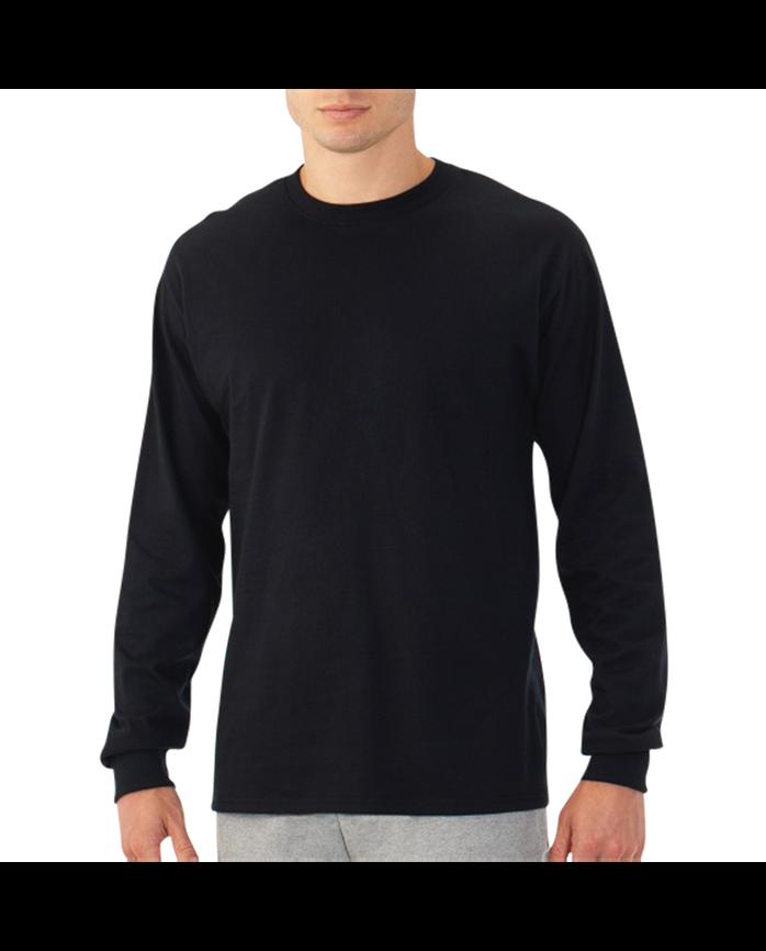 Men's EverSoft Long Sleeve T-Shirt, 1 Pack Black